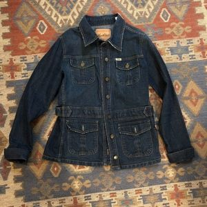 Levi Strauss denim jean jacket size large